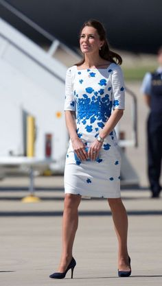 Marilyn Monroe, Princesse Kate Middleton, Duchess Of Cambridge, Duchess Kate, Princess Kate, British Royals, Blue Shoes, Dressing, Clothes For Women