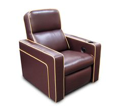 Fortress Bijou Contemporary Home Theater Seating | Theater Seat Store