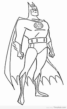 Free Printable Batman Coloring Pages For Kids