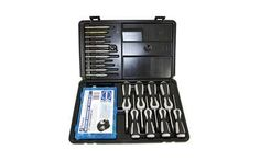 Pachmayr Master Gunsmith Ultimate Gunsmith Kit, Includes 1torx Driver, 7 Flat Blade Drivers, Roll Pin Punches, Standard Punches, Special Punches, Brass Tapper Hammer, Screw Kit, Black Finish 3085 Mode