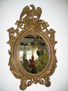 Eagle Crest Colonial Empire Bronze Mirror by designeruniquefinds