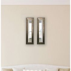 Rayne Roman Copper Bronze Mirror Panel, Set of 2