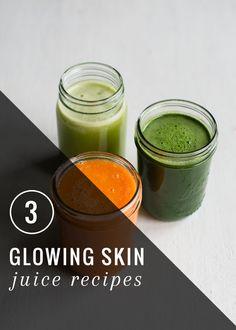 3 Juice Recipes For Great Skin | HenryHappened.com