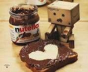Kartonmännchen Nutella