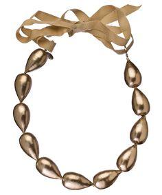 Nude Pearl Lei Necklace