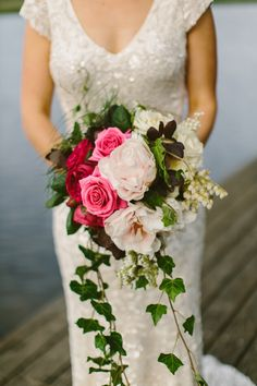 Incredible bridal bouquet.  Flowers by Carolyn Collison.  Photography by Cavanagh Photography.