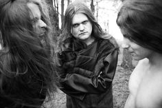 "Enslaved - Bergen from the book ""True Norwegian Black Metal"" (May 2008) by the photographer Peter Beste. Large HQ"