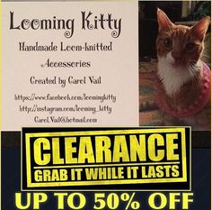 Cold last night or today?? ***CLEARANCE***Up to 50% EVERYTHING!! Visit the full shop ~ https://www.etsy.com/shop/LoomingKitty #fall #autumn #sale #cold #winter #brrr #scarves #hats #gloves #gear