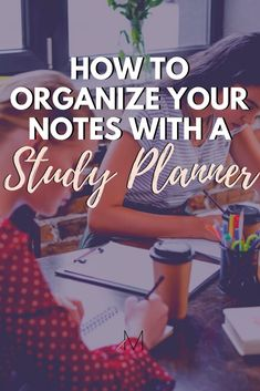 College studying tips are no good if you don't ACTUALLY apply what you've learned. Here's a study planner that will help! #study #college