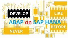 ABAP on SAP HANA. Part I – SAP Yard What Is Perspective, The Last Question, New Program, Custom Packaging, Hana, User Interface, Programming, Train