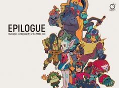 New Udon Art Book, Epilogue, Showcases Middle-Eastern Artists