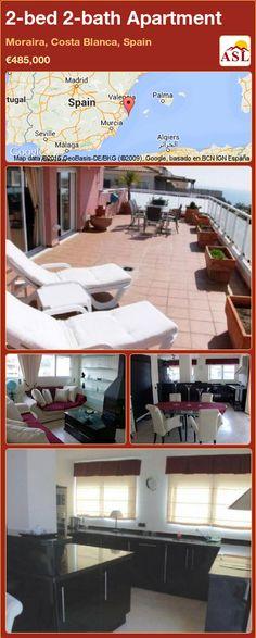 2-bed 2-bath Apartment in Moraira, Costa Blanca, Spain ►€485,000 #PropertyForSaleInSpain
