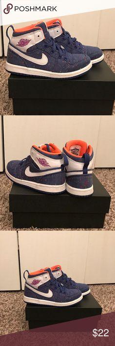 Toddler Girl Jordan Retro 1s. Size 9. Great cond. ❗️Great condition Toddler Girl Jordan Retro 1s. Size 9. Jordan Shoes Sneakers