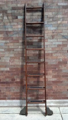 Who doesn't need an antique library ladder?