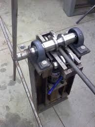 Image result for homemade metal bending machine