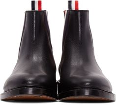Thom Browne - Black Chelsea Boots