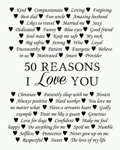 50 Reasons why we love you, Birthday Present, Custom Birthday Gift, Anniversary gift – Birthday Presents Husband Quotes, Love Quotes For Him, Boyfriend Quotes, Uncle Quotes, Boyfriend Boyfriend, Girlfriend Quotes, Word Text, 50th Birthday Presents, Cake Birthday