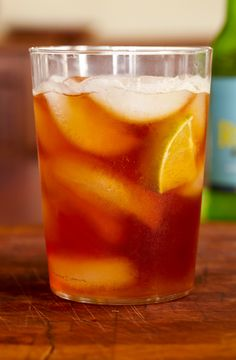 Dark and stormy with rum