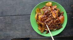 Rujak local food #ambon #indonesia
