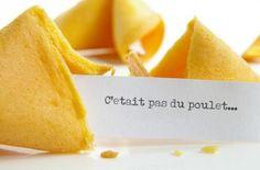 Petit biscuit chinois pour laisser un dernier message de remerciement aux invités avant de partir!