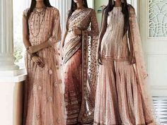 7 Peach Colour Combination Suits For All Your Bridesmaids
