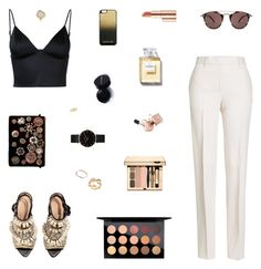 Josie by belenloperfido on Polyvore featuring polyvore, fashion, style, T By Alexander Wang, Jil Sander, H&M, Steve Madden, CLUSE, GUESS, Jennifer Meyer Jewelry, MICHAEL Michael Kors, Oliver Peoples, MAC Cosmetics, Estée Lauder and clothing
