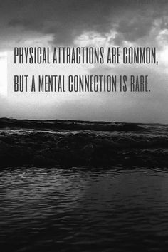Mental connection is rare: To put in relationships ppt