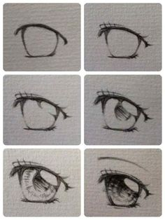 Eye Tutorial by KiranKira on DeviantArt - Eye Tutorial by KiranKira on DeviantArt The Effective Pictures We Offer You About diy projects A q - Anime Drawings Sketches, Cool Art Drawings, Pencil Art Drawings, Kawaii Drawings, Easy Drawings, Pencil Sketching, Realistic Drawings, Hipster Drawings, Sketches Tutorial