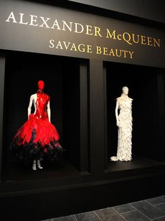 """Alexander McQueen: Savage Beauty"" Costume Institute Exhibition At The Metropolitan Museum of Art, Spring, 2011."