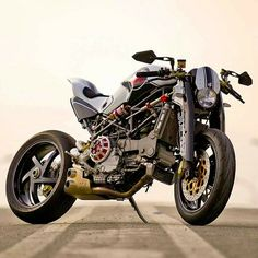 Sweet Ducati M-S4r by Paolo Tex