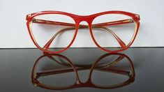 bf580d039493c Paloma Picasso   red eyeglasses   oversize frame   vintage 1980s eyewear    made in Germany   NOS