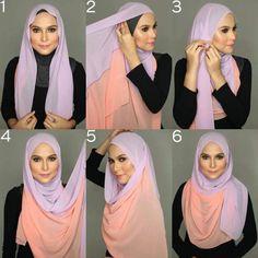 Instant Shawl(2 Loops) | Hijab Tutorial-Pinless Hijabs ...