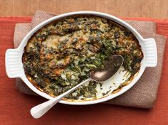 Spinach Gratin from FoodNetwork.com