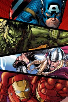 Avengers #Marvel comics #Vengadores . Pin and follow @Pyra2elcapo