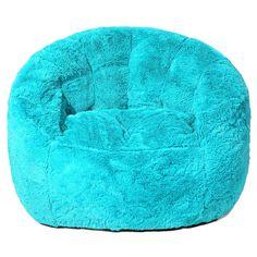 New Faux Fur Bean Bag Chair