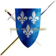 Jean de Québriac. This noble who's house was from the province of Rennes took the Cross in 1248 to join the sixth crusade.