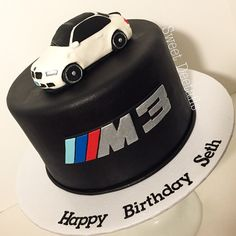 Bmw Cake, Happy Birthday, Birthday Cake, Cake Ideas, Sweet, Instagram, Happy Brithday, Candy, Urari La Multi Ani