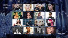 "Slowenien: So klingen die Songs für ""EMA 2018"" Eurovision Song Contest, Rabi Ul Awal, Photo Wall, Frame, Picture Frame, Photograph, Frames"
