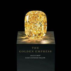The Golden Empress Diamond. Graff,