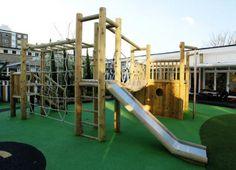 JC Gardens and Climbing Frames - Addison Pre School Playground ...