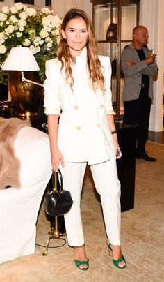 When it comes to power dressing, Miroslava Duma nails it every time.