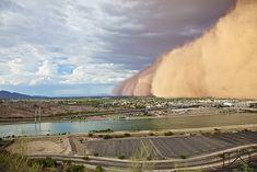 Terrifying photos of Sandstorms � 15 PHOTOS