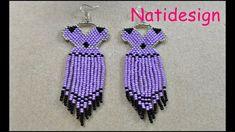 Beaded Earrings, Beaded Jewelry, Drop Earrings, Friendship Bracelets, Crafty, Jewels, Beads, Tutorials, Film