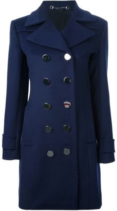 Love this: GUCCI Double Breasted Coat @Lyst