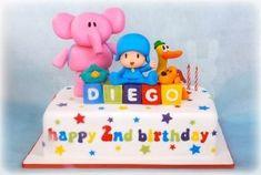 pocoyo birthday cake - Buscar con Google