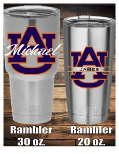 Auburn University Decal by TheCraftyAggie on Etsy