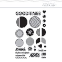 Picture 1 of Stamp Set: Good Times by In A Creative Bubble