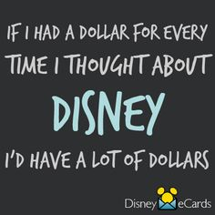 Enough for several Disney vacations! << Seriously! xD