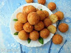 Di gotuje: Panierowane kulki z żółtego sera