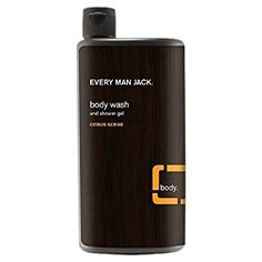 Buy Every Man Jack Body Wash and Shower Gel, Citrus Scrub oz (pack of Best Body Wash, Thing 1, Citrus Oil, Old Spice, Castile Soap, Every Man, Shower Gel, Nice Body, Body Care
